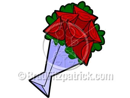 432x324 Cartoon Roses Clipart Picture Royalty Free Roses Clip Art