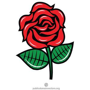 Rote Rose Clipart