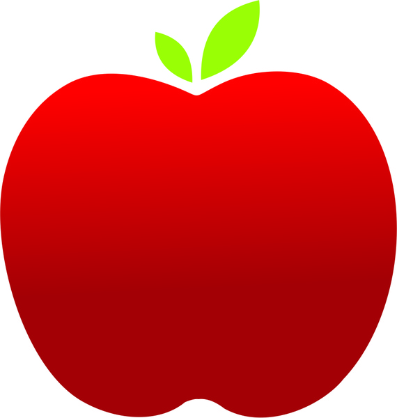 570x600 Apple Free Vector In Coreldraw Cdr ( Cdr ) Vector Illustration
