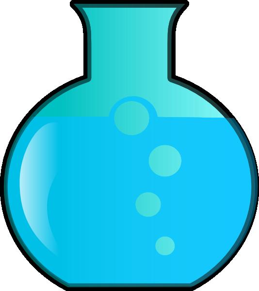 534x599 Round Bottom Flask Clip Art