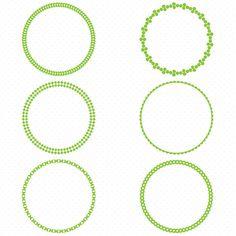 236x236 Blue Circle Frames, Circle Frame Clip Art, Round Frame Clip Art