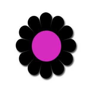 Round Flower Clipart | Free download on ClipArtMag