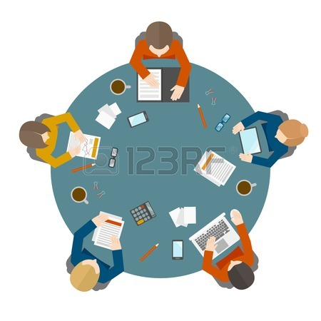 Round Table Clipart