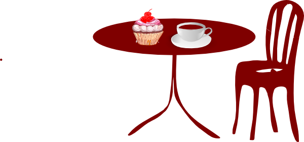 600x280 School Table Clip Art Round Table Clipart Kitchen Table, Kitchen