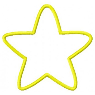 Rounded Star Outline