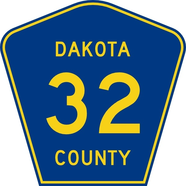600x600 Highway Sign Dakota County Route 32 Clip Art Free Vector In Open