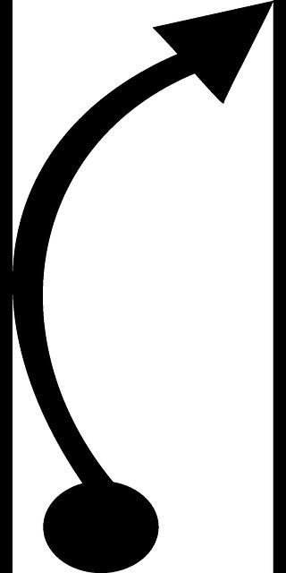 320x640 Curve Clipart Route