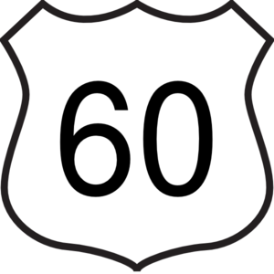 300x300 Highway Clipart Route