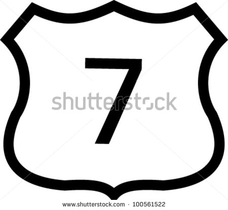 450x415 State Highway Sign Clipart 2121984