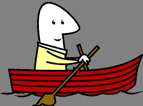 599x445 Row Boat Clipart
