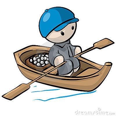 400x400 Row Boat Clipart Cute Cartoon