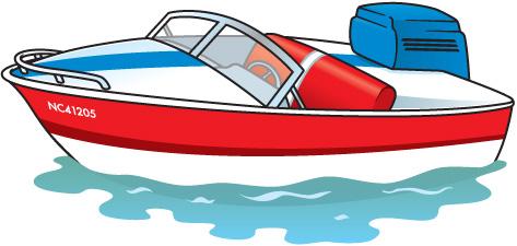 473x225 Row Boat Clipart Speed Boat