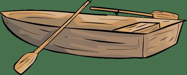600x243 Row Boat Clipart Transparent
