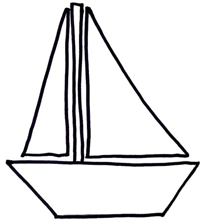 407x447 Boat Black And White Row Boat Black And White Clipart 2
