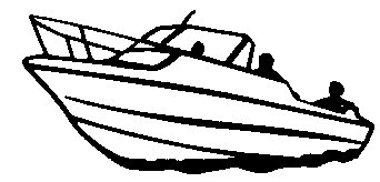342x164 Boating Clipart