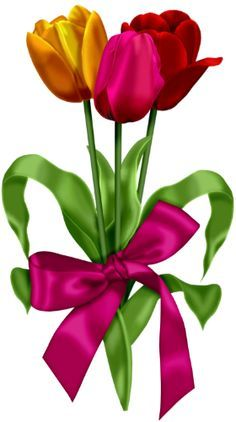 236x422 The Best Tulip Clipart Ideas Tulip Tattoo, Bird