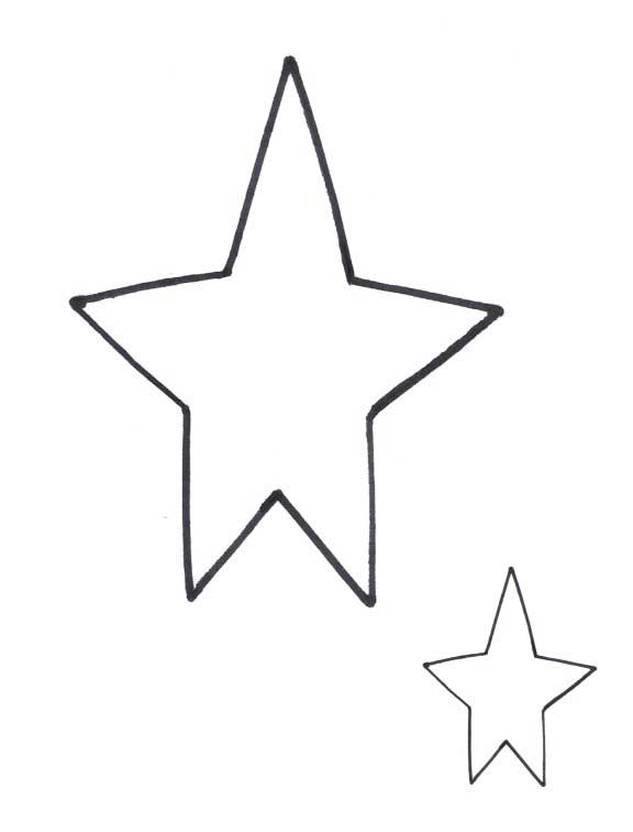 576x756 Country Star Clipart