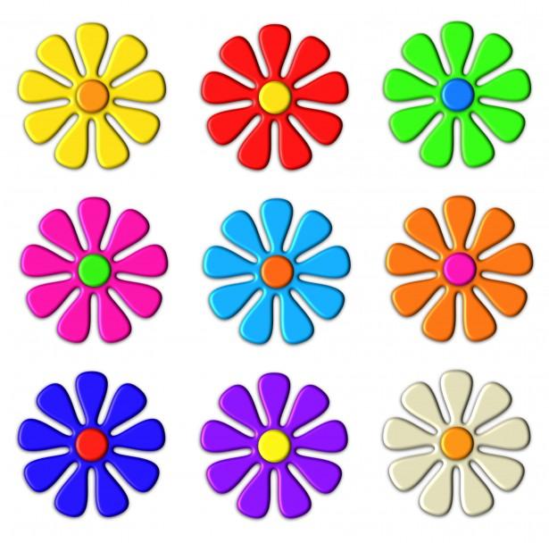 615x608 Flower Clip Art Images