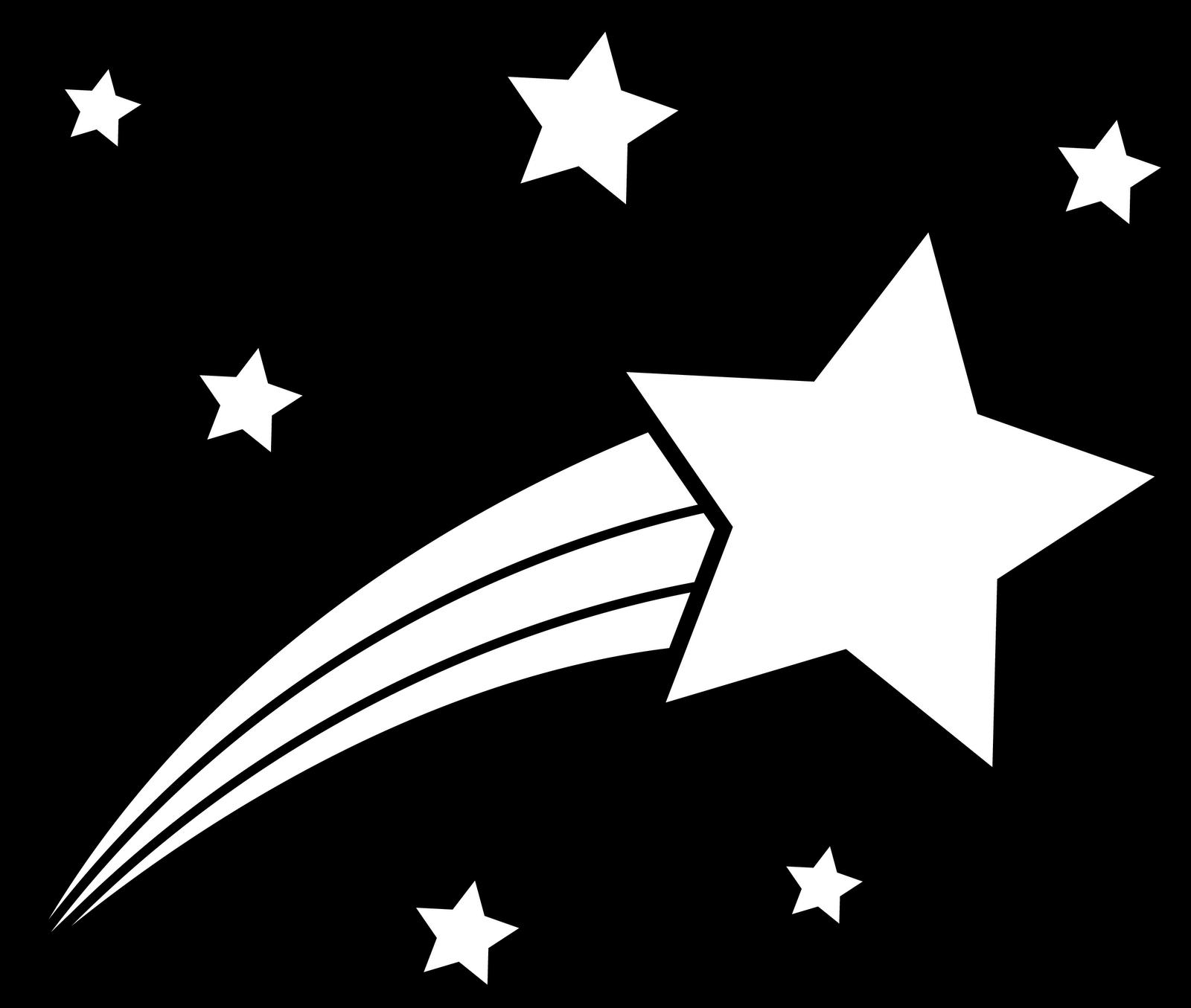 1600x1355 Shooting Star Clipart