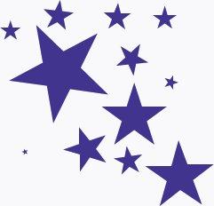 241x232 Shooting Star Clipart Row Star