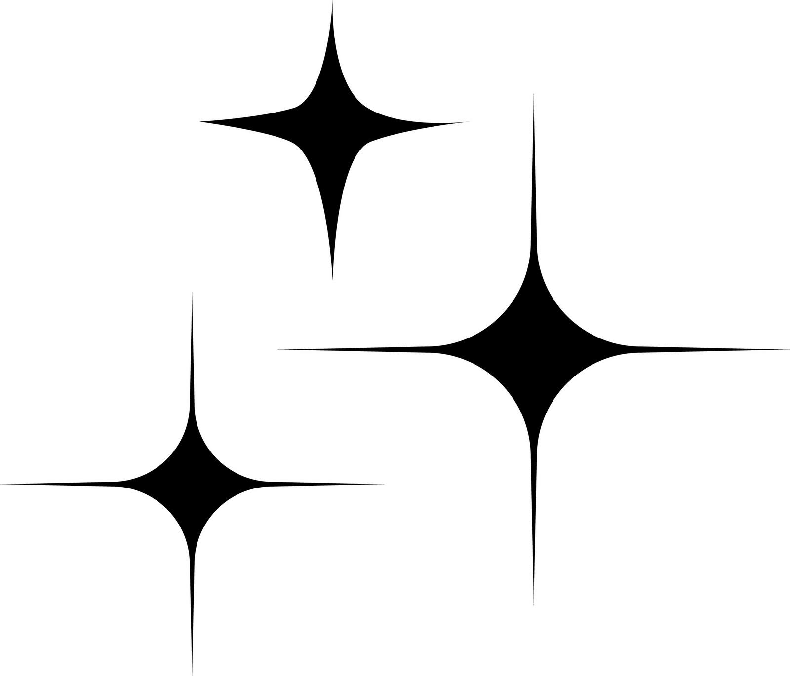 1600x1370 Twinkling Stars Clipart