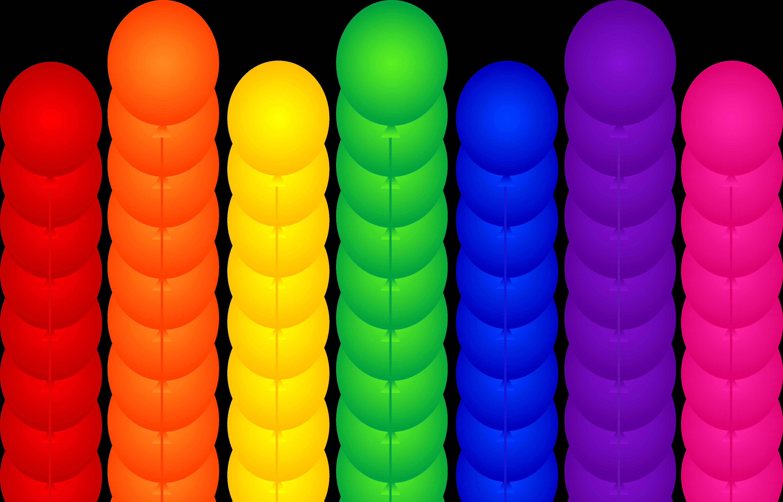 4485x2873 Birthday Balloons Clip Art Many Interesting Cliparts