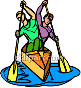 279x300 Rowing Boats Clipart
