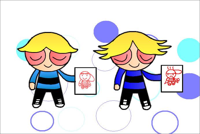 692x463 Rowdyruff Boys Coloring By Sahara Lynne
