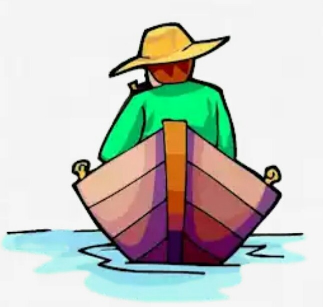 Rowing Boat Clipart