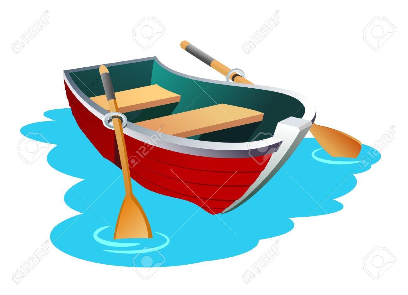 1300x942 Canoe Clipart Rowing Boat
