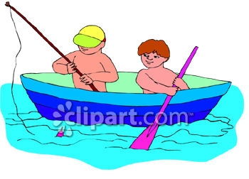 350x252 Row Boat Clipart Boating