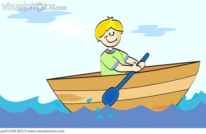 700x455 Boat Clipart Rowing Boat