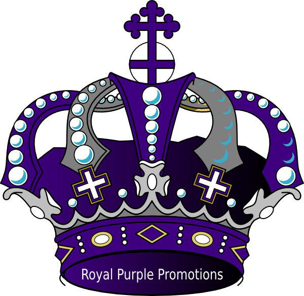 600x585 Crown Royal Clipart Purple Crown