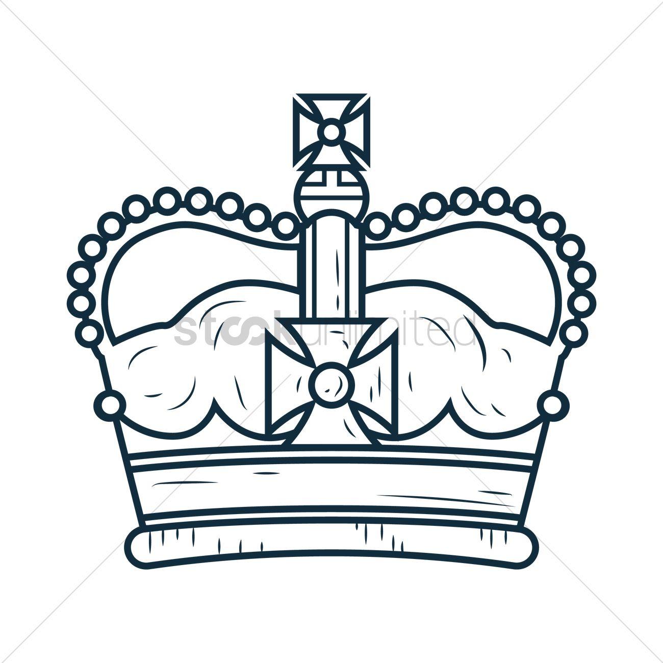 1300x1300 Free Royal Crown Vector Image
