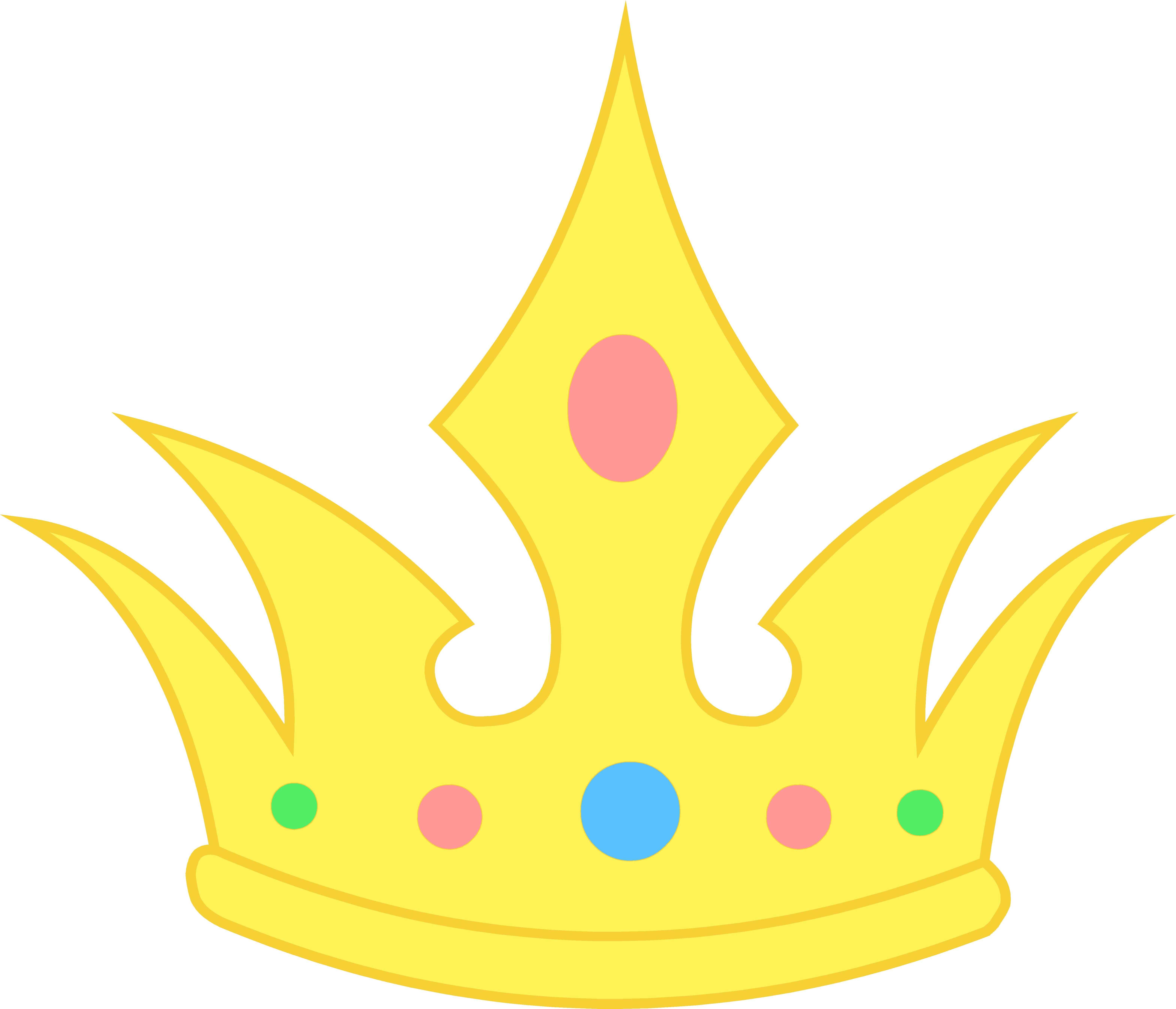 6278x5384 Gold Royal Crown Clipart Clipart Panda