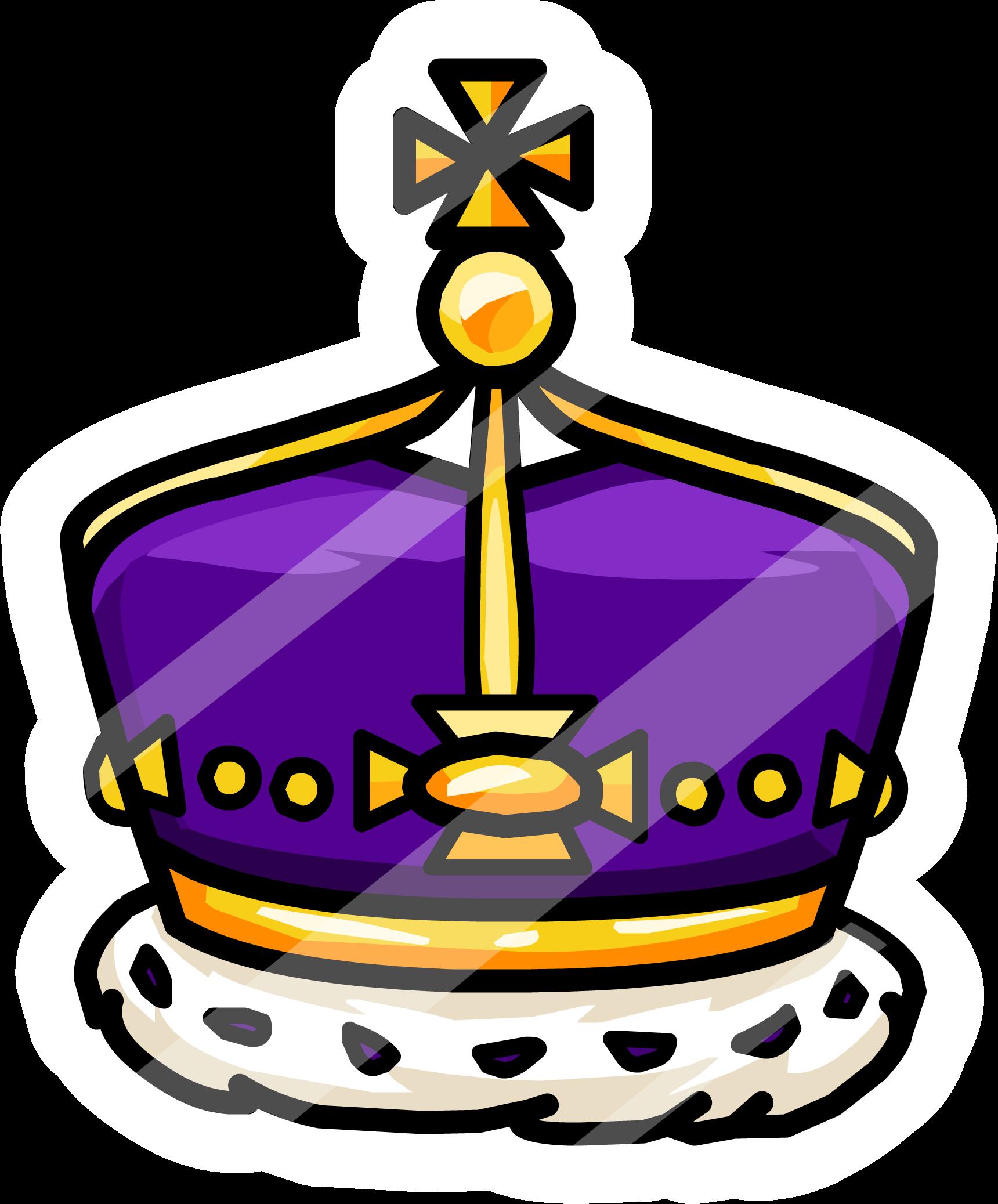 1720x2075 Royal Crown Pin Club Penguin Wiki Fandom Powered By Wikia