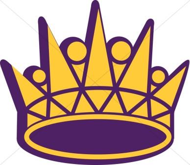 388x337 Royal Crown Clipart
