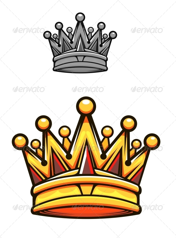 590x798 Vintage Royal Crown By Seamartini Graphicriver
