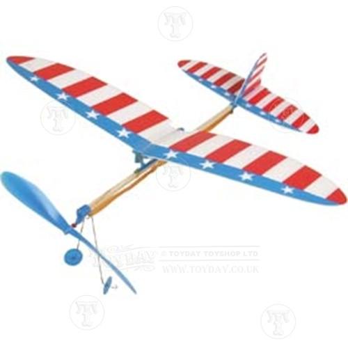 500x500 Elastic Band Plane