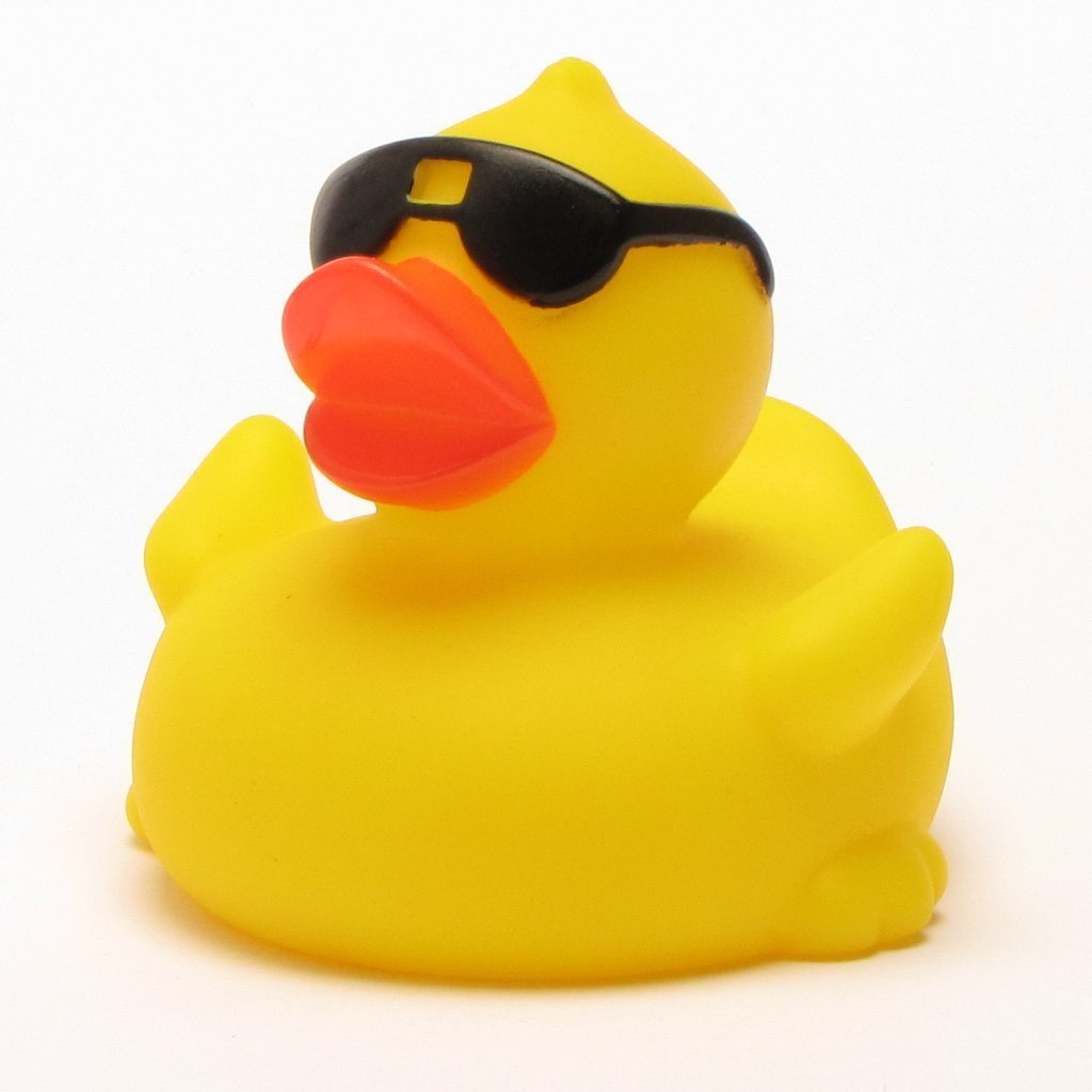 1024x1024 Cool Sunglasses Rubber Duck For Hot Tub Or Spa