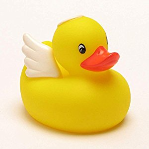 300x300 Angel Rubber Duck Protection Duck Toys Amp Games