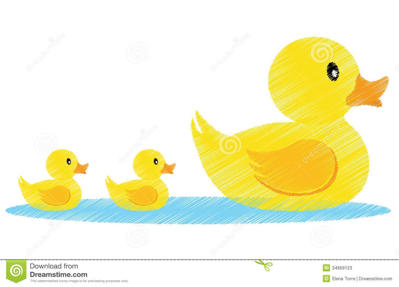1300x935 Mama Duck Clipart