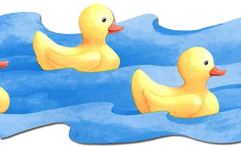 770x471 Rubber Ducky Border Clipart