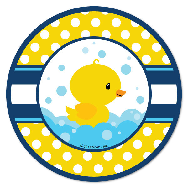 600x600 Rubber Ducky Party Supplies