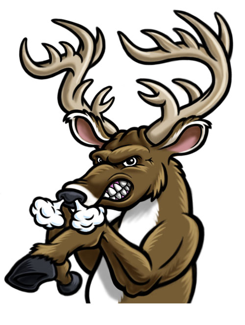 500x663 Football Clip Art Stag Cliparts