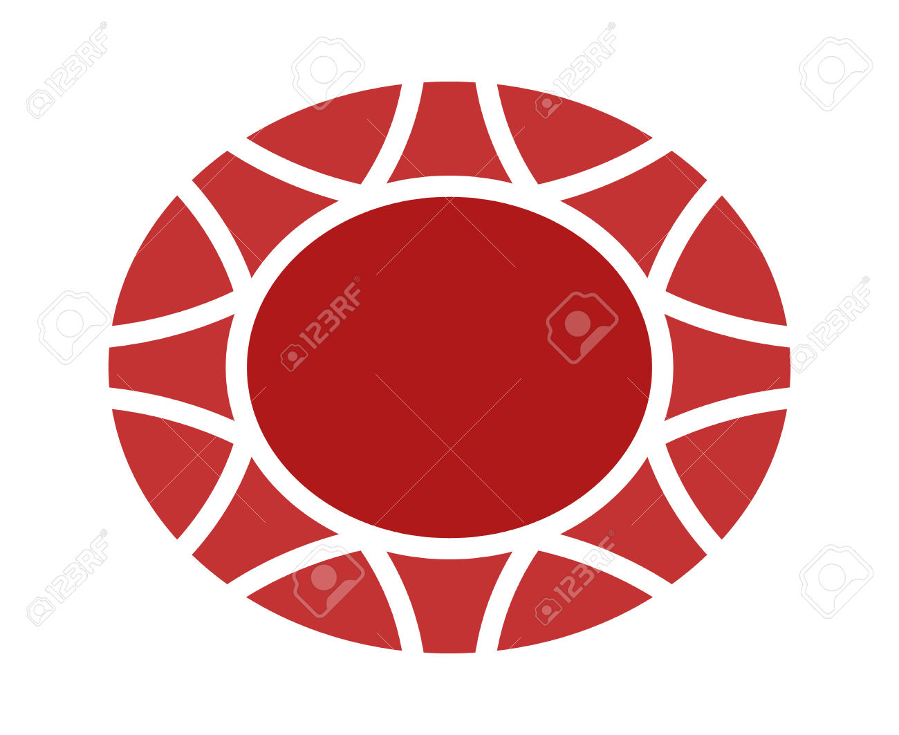 1300x1063 Ruby Clipart Oval