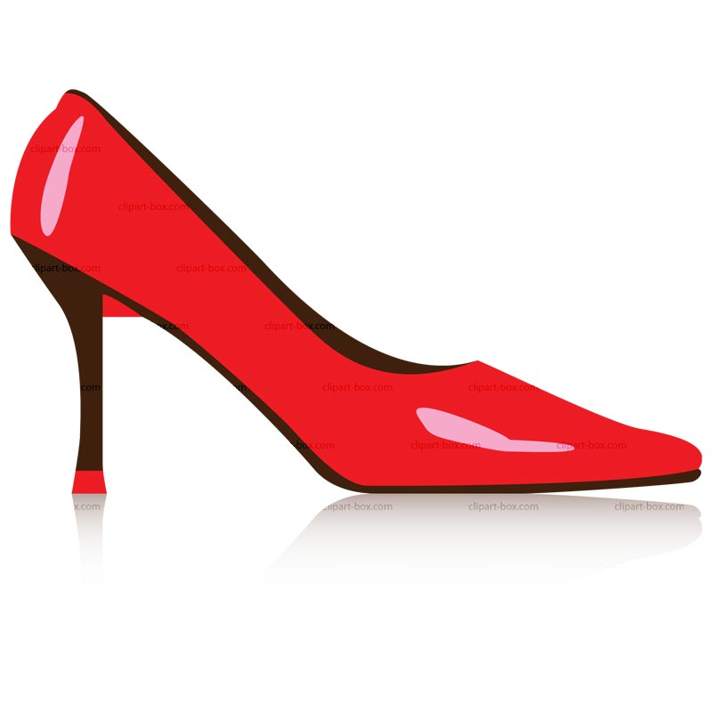 800x800 Clip Art Red Shoes Clipart