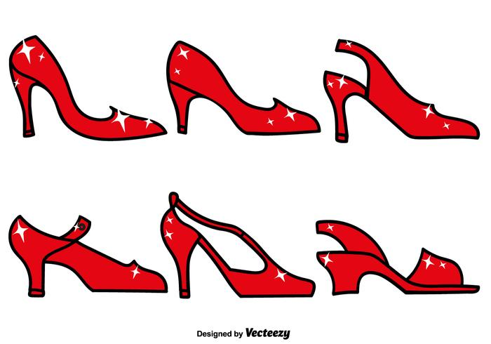700x490 Ruby Slippers Icon Set