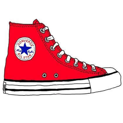 420x420 238 Best Shoes Converse Illustrations Images Art