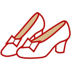236x236 Ruby Slippers Clipart